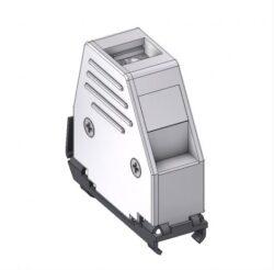DCEM15-DELTRON D-Sub metallized hood 15P SPQ:100
