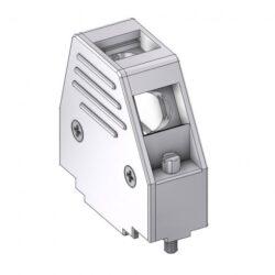 DCM15UN4-DELTRON D-Sub metallized hood 15P SPQ:100
