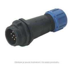 DELKSP1311/P3I with cap-DELTRON Cable plug 3P IP68 SPQ:10