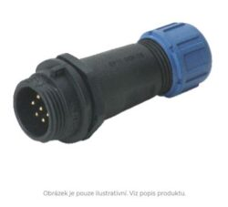 DELKSP1311/P4I with cap-DELTRON Cable plug 4P IP68 SPQ:10