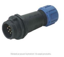 DELKSP1311/P5I with cap-DELTRON Cable plug 5P IP68 SPQ:10
