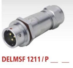 DELMSF1211/P3I with cap-DELTRON Cable plug 3P IP67 SPQ:10