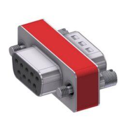 DFA09P/09S/2FP102UN-DELTRON D-Sub Filter-Adapter 9P/Female/Male SPQ:88