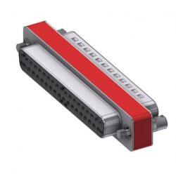 DFA37P/37S/2FP102UN-DELTRON D-Sub Filter-Adapter 37P/Female/Male SPQ:33