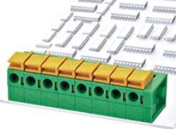 DG142R-5.08-03P-14-00A(H)-Degson: Svorkovnice pružinová do DPS RM 5,08mm 03 pólová, 15A/250VDC, H=13,4mm, B=14,10mm