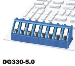 Svorkovnice pružinová do DPS: DG330-5.0-03P-12-00AH-DEGSON: Svorkovnice pružinová do DPS: DG330-5.0-03P-12-00AH RM 5,00mm 03 pólová, 24A/250VDC