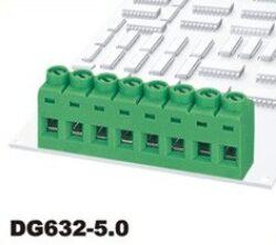 Šroubovací svorkovnice:  DG632-5.0-02P-14-00AH-DEGSON: Šroubovací svorkovnice: DG632-5.0-02P-14-00AH RM 5,00mm 2 pólová