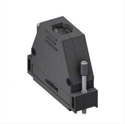 DH50UN4-DELTRON D-sub plastic hood 50P SPQ:100