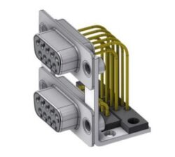 DPB09SN70/09SN70-S/2-DELTRON D-Sub dual socket 9P/Female/Female SPQ:32