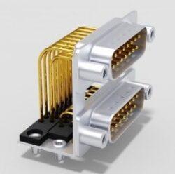 DPB15PN70/15PN70-S/2-DELTRON D-Sub dual plug 15P/Male/Male SPQ:24