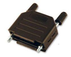 Krytka pro D-SUB: DPPK15-BULK/100-OSSI: Krytka pro D-SUB: DPPK15-BULK/100  pro 15pinový na plastový kabel: 3-11mm UNC4-40 černý