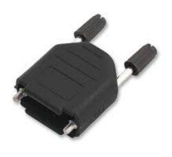 Krytka pro D-SUB: DPPK9-BULK/100-OSSI: Krytka pro D-SUB: DPPK9-BULK/100 pro 9pinový na plastový kabel: 3-11mm UNC4-40 černý