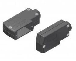 DSPK15-DELTRON D-sub hood/plastic 15P SPQ:100
