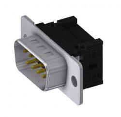 DTS09PFC/2-A-DELTRON D-Sub Plug 9 IDC QC2 SPQ:100