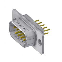 DTS09PY/2-DELTRON D-Sub plug 9P/Male SPQ:88