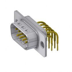 DTS09PYC/2-DELTRON D-Sub plug 9P/Male SPQ:64