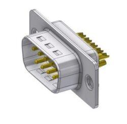 DTS09PZ/2-DELTRON D-Sub plug 9P/Male SPQ:88