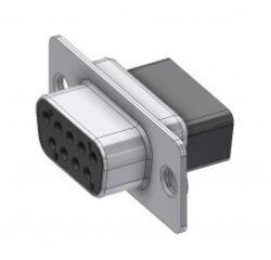 DTS09SX-DELTRON D-Sub crimp-socket 9P/Female SPQ:100