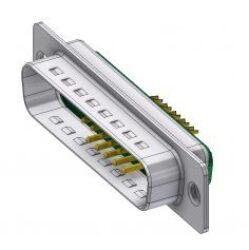 DTS13W3PZ/2-DELTRON D-Sub hybrid-plug SPQ:44