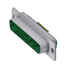 DTS13W3SZ/2-DELTRON D-Sub hybrid-socket SPQ:44