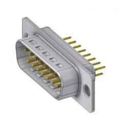 DTS15PY/2-DELTRON D-Sub plug 15P/Male SPQ:66