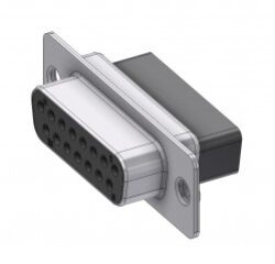 DTS15SX-DELTRON D-Sub crimp-socket 15P/Female SPQ:100