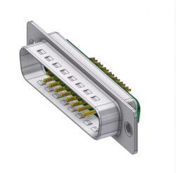 DTS17W2PZ/2-DELTRON D-Sub hybrid-plug SPQ:44