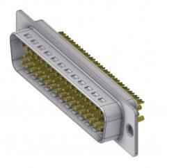 DTS50PZ/2-DELTRON D-Sub plug 50P/Male SPQ:24
