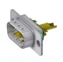 DTS5W1PZ/2-DELTRON D-Sub hybrid-plug SPQ:88