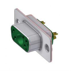 DTS5W1SZ/2-DELTRON D-Sub hybrid-socket SPQ:88