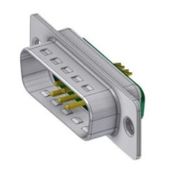 DTS7W2PZ/2-DELTRON D-Sub hybrid-plug SPQ:66
