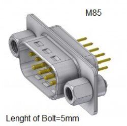 DTS09PY/2M85UNB5-DELTRON D-Sub plug 9P/Male SPQ:88