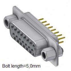 DTS09SY/2M85UNB5-DELTRON D-Sub socket 9P/Female SPQ:88