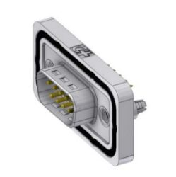 DTSWM09PY/2M86UN-DELTRON D-Sub Connector Male 9P IP68 SPQ:42