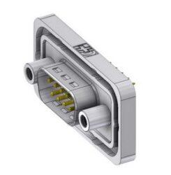 DTSWM09PY/2M95UN-DELTRON D-Sub Connector Male 9P IP68 SPQ:42