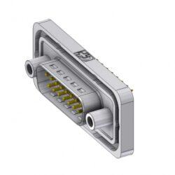 DTSWM15PY/2M95UN-DELTRON D-Sub Connector Male 15P IP68 SPQ:35