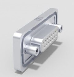DTSWM25SY/2M85UN-DELTRON D-Sub Connector Female 25P IP68 SPQ:28