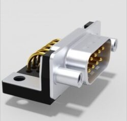 DTS09PYC/2M46UNB5-DELTRON D-Sub plug 9P/Male SPQ:64