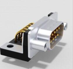 DTS09PYC/2M63UN-DELTRON D-Sub plug 9P/Male SPQ:64