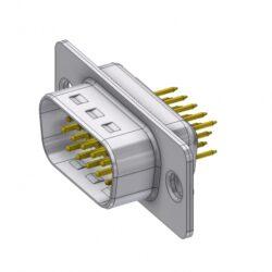 HD-D15PY/2-DELTRON D-Sub high-density connector 15P SPQ:88