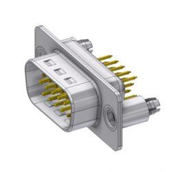 HD-D15PY/2M86UN-DELTRON D-Sub high-density plug 15P SPQ:88