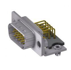 HD-D15PYC/2M47HUN-DELTRON D-Sub high-density plug 15P SPQ:64