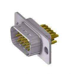 HD-D15PZ/2-DELTRON D-Sub Plug 15 High Density QC2 SPQ:88