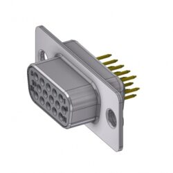 HD-D15SY/2 - DELTRON D-Sub high-density socket 15P SPQ:88