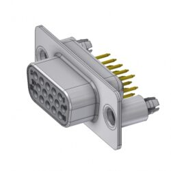 HD-D15SY/2M86UN - DELTRON D-Sub high-density socket 15P SPQ:88