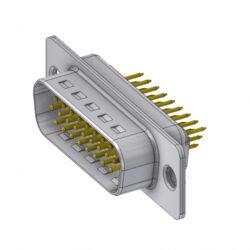 HD-D26PY/2-DELTRON D-Sub high-density connector 26P SPQ:66