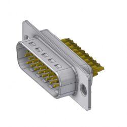 HD-D26PZ/2-DELTRON D-Sub Plug 26 High Density QC2 SPQ:66