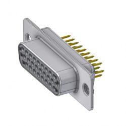 HD-D26SY/2-DELTRON D-Sub high-density socket 26P SPQ:66