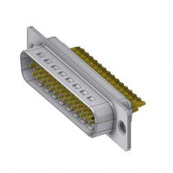 HD-D44PZ/2-DELTRON D-Sub Plug 44 High Density QC2 SPQ:44