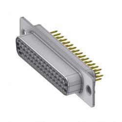 HD-D44SY/2-DELTRON D-Sub high-density socket 44P SPQ:44